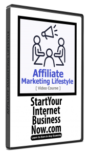 Affiliate Marketing Lifestyle Video Course