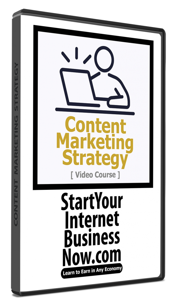 Content Marketing Strategy Video Course