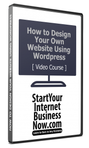 How to Crete Your own Website Video Course